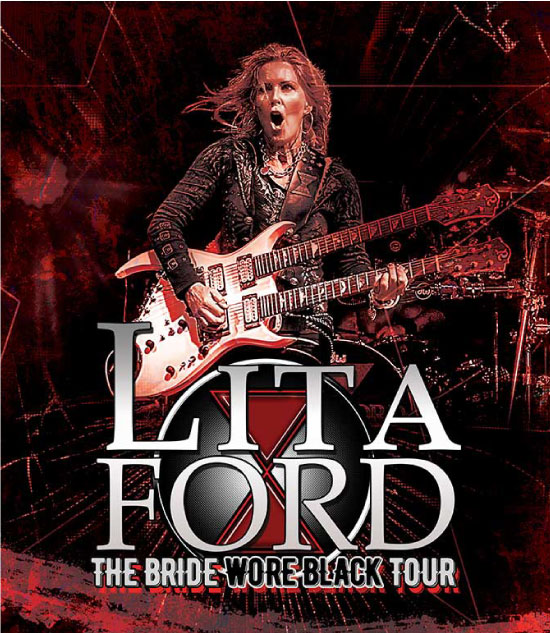 Lita Ford - The Bride Wore Black Tour