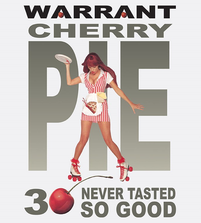 Warrant Cherry Pie Poster